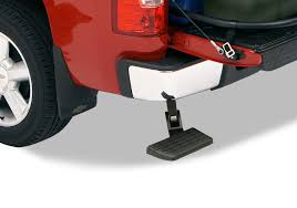 AMP Research BedStep Tailgate Step 07-13 Silverado/Sierra 1500|07 ...