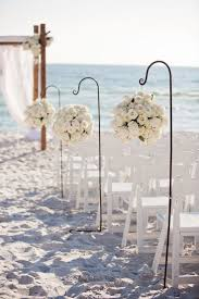 A Modern Glam Sparkle and White Destination Wedding. Beach Wedding  DecorationsWedding ...