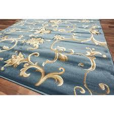 area rugs teal blue whole area rugs rug depot modern vines area rug