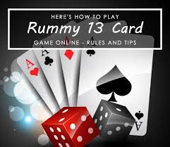 play rummy 13 card game