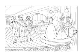 Small Picture barbie fashion fairytale coloring pages printable Just Colorings