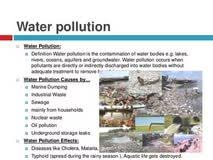 causes and effect of water pollution essay angelina jolie role causes and effect of water pollution essay