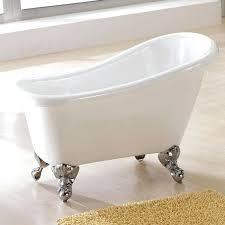 bathtub feet carter mini acrylic tub 4 foot long plastic tub