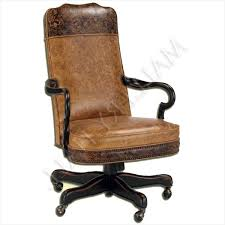 rustic office chair. Rustic Desk Chair » Looking For Custom Made Leather Office With Wood Arms And Legs E