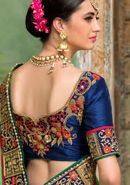 Saree Blouse Designs Front And Back 2017 Blouse Designs For Sarees Saree Blouses Buy Designer