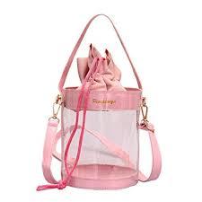 Enterrific Women's Handbags <b>Transparent Jelly Bag</b> Crossbody ...