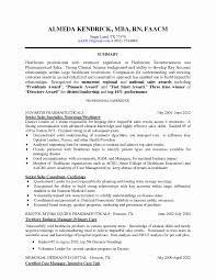 Rn Resume Template Unique Cover Letter Sample Resume For Rn Free
