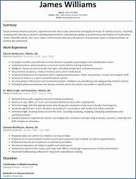 38 Sample Of Medical Assistant Resume Riverheadfd