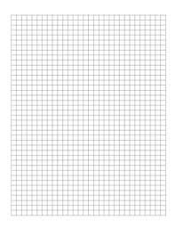 Free Graph Paper Template 30 X 40 Squares