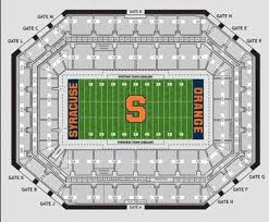 Su Dome Seating Chart Carrier Dome Seating Chart How To Find Your Seat For