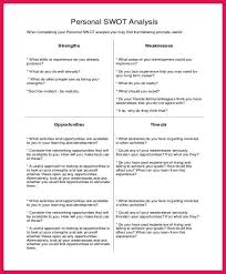 personal swot analysis example sop examples personal swot analysis example personal swot analysis example