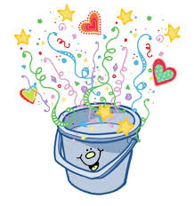 Small Picture Bucket Filling Coloring Page