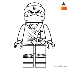 Lego Ninjago Movie Coloring Pages For Print Jokingartcom Lego