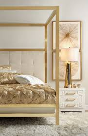 Terrific Gold Canopy Bed Frame Images Decoration Inspiration ...
