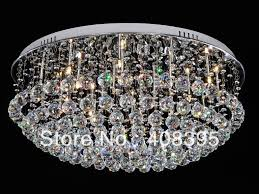 attractive ceiling crystal lights crystal flush mount ceiling light soul speak designs