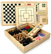 Wooden Games Compendium Deluxe large over 10000 in 100 wooden games compendium dice games 3