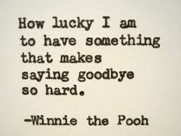Goodbye Quotes Magnificent Saying Goodbye Quotes New Winnie The Pooh Say Goodbye Quote