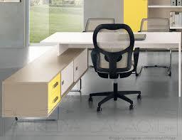Mobili Per La Casa On Line : Mobili per ufficio componibili scrivania libreria visone giallo