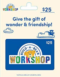 Amazon Com Build A Bear Gift Cards Multipack Of 3 15 Gift Cards