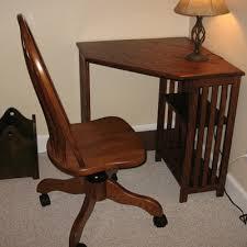 mission style corner desk