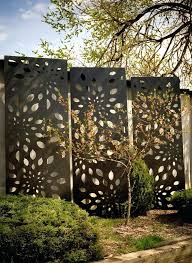 outdoor privacy screen panels metal fence garden screens diy outdoor privacy screen panels