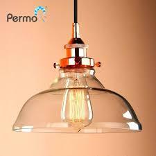 clear glass pendant lighting modern inch pendant lights vintage clear glass pendant ceiling lamps industrial loft clear glass pendant lighting