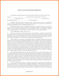 Standard Confidentiality Agreement 24 Non Disclosure Confidentiality Agreement Sample Purchase 23