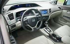2012 Honda Civic Hybrid with Leather and Navi - Editors' Notebook ...