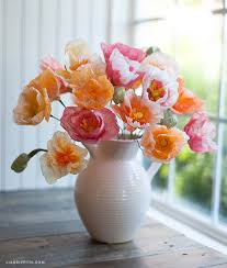 Make A Paper Poppy Flower Make These Gorgeous Tissue Paper Poppies