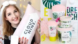 mive zoella beauty haul splash botanics snow ella gelato