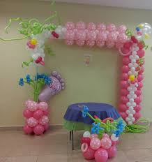 Lovely and quite elaborate Girl Baby Shower