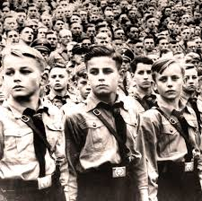 youth hitler youth lapham s quarterly black and white photograph of young boys at a hitler youth rally