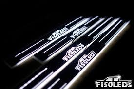 Custom Door Lights That Shine On The Ground 2015 2020 Premier Lighted Led Door Sill Light F150leds Com
