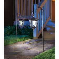 hanging solar patio lights. Living Accents Solar-Powered LED Dual Use Coach Style Light Black 2 Pk(L3C-R2-BK-2) - Landscape Lighting Ace Hardware Hanging Solar Patio Lights N