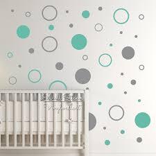 Stippen Muur Sticker Babykamer Polka Dot Muurtattoo Kinderkamer