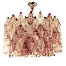 vintage venini poliedri ceiling light