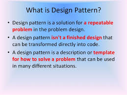 What Is Design Pattern Gorgeous Design Pattern
