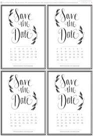 save the date template free download 50 best diy save the date images in 2019 diy save the dates save