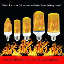 led flame lamp details about led flame lamp burning light flicker bulb fire effect decorative led led flame lamp