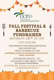 Fall Festival And Barbecue United Cerebral Palsy Of South Carolina