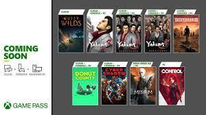 Xbox Game Pass: Zweite Januar-Hälfte ...