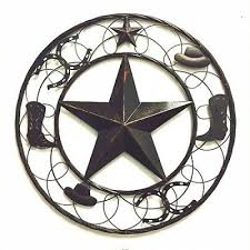 24 star with boot horseshoe hat barn