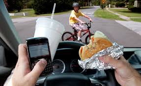 Image result for distracted driver clipart