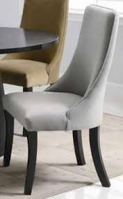 curved pseudo arm parson s chairs for dining room