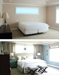use wall curtains to frame the bed even if no windows how make your taller queen size ways small bedroom look bigger