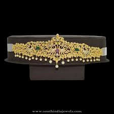 Vaddanam Designs 1 Gram Gold Online Shopping 1 Gram Gold Vadanam With Price South India Jewels