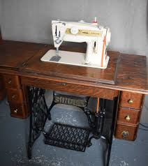 Treadle Sewing Machine Cabinet My Singer 411g Grow Your Own Clothes