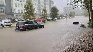flash flood watches as Nicholas hovers ...