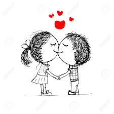 cute love cartoon drawings sketches of love of cartoons love couple cartoon sketches cute love