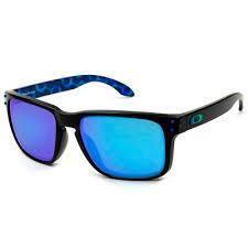 <b>Óculos de Sol</b> Oakley Holbrook Rio <b>2016</b> Preto com Lente Azul ...